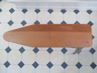 VTG-ANTIQUE-WOODEN-IRONING-BOARD-NO-34-OUR-OWN-NATIONAL-WASHBOARD-CO-CHICAGO
