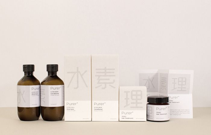 purer - minimal packaging design at its best. Love the apothecary style!