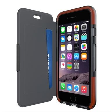 Tech21 Classic Shell Wallet iPhone 6(s)  SHOP ONLINE: http://www.purelifestyle.be/shop/view/technology/iphone-beschermhoezen/tech21-classic-shell-wallet-iphone-6s