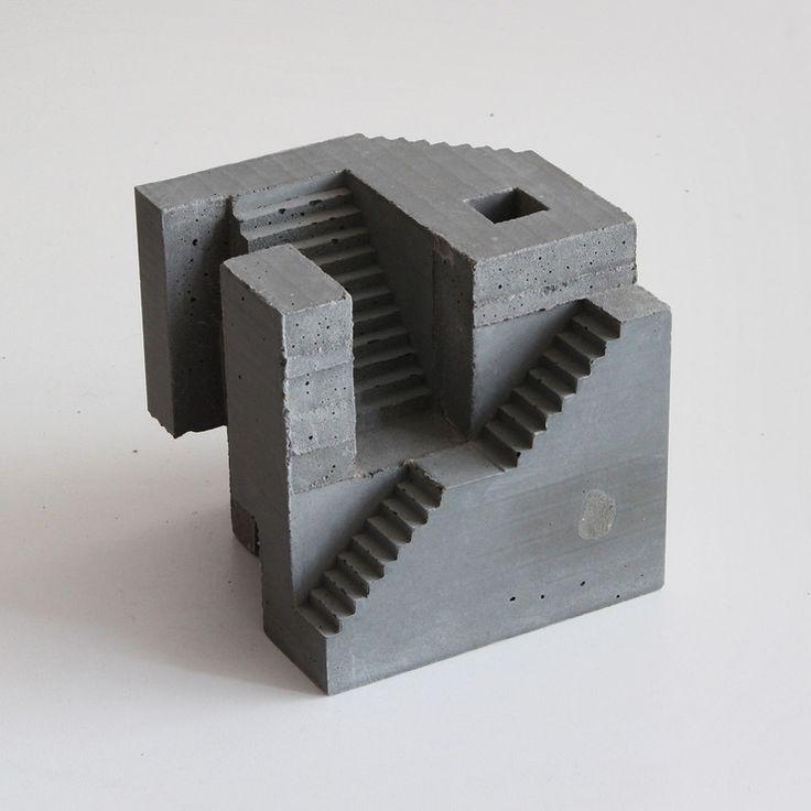 Architectural Concrete Sculptures By David Umemoto http://designwrld.com/architectural-concrete-sculptures-by-david-umemoto/