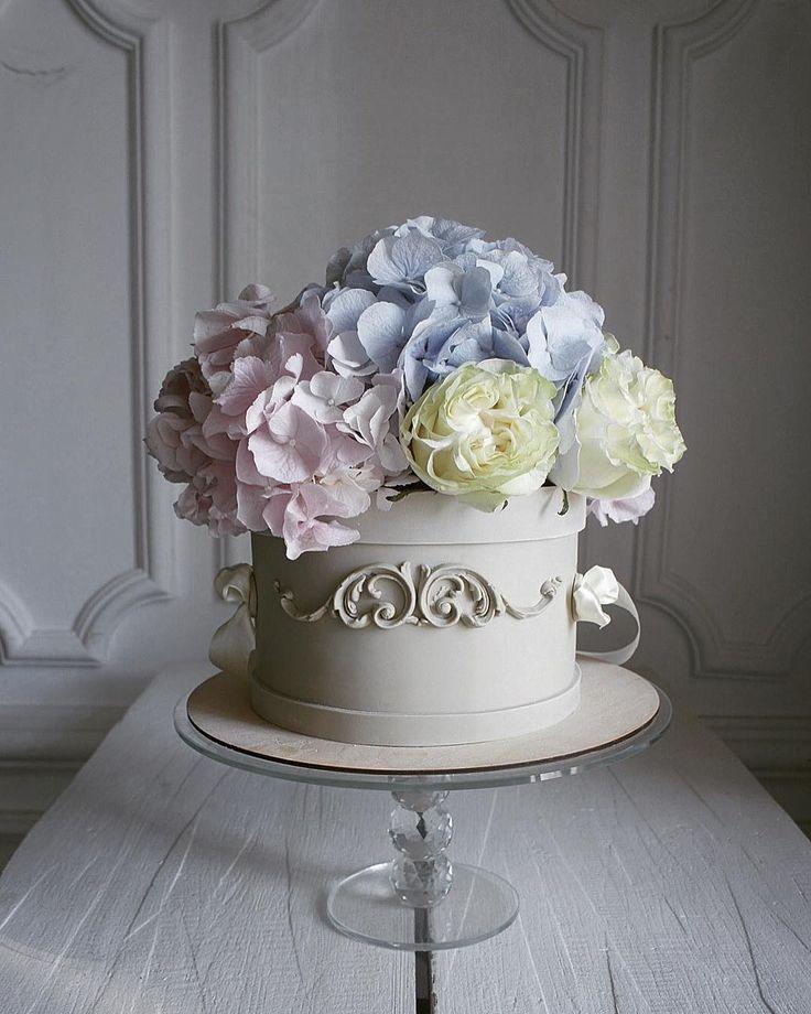 торт ваза с цветами фото вас дома