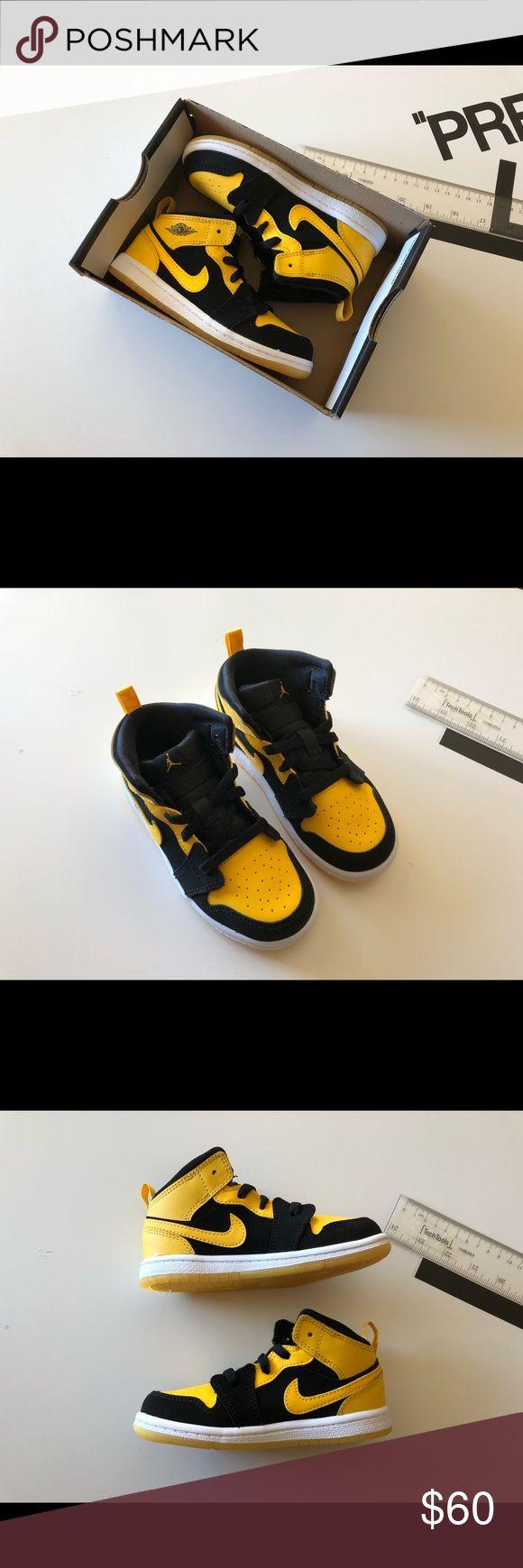 TODDLER NIKE JORDAN 1 MID BT | NEW | 640735-035 Brand new Nike Shoes Sneakers