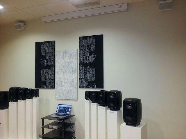 Konto acoustics ja genelecin kaiuttimet