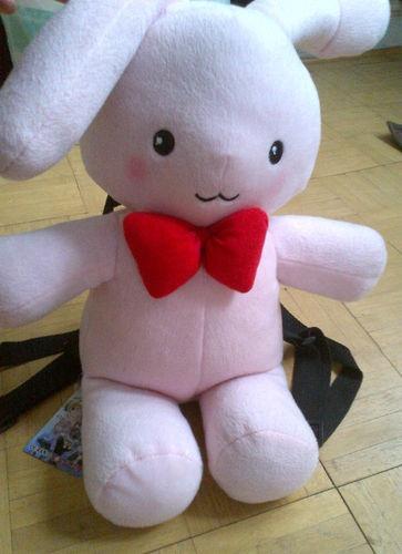 New official anime Ouran high school host club cosplay Honey bunny plush bag