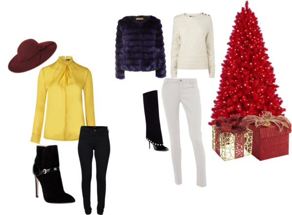 """DUE OUTFIT PER LA MATTINA DI NATALE.."" by cocofashionblogger on Polyvore"