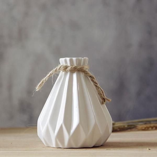 Adelaide White Vase - Pin for Inspo!