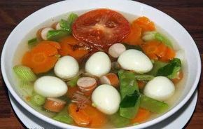 Resep Sayur Sehat - Sop Telur Puyuh Nikmat