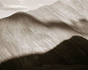 Cloud Shadow, Ladakh, India, 1988, © Linda Connor
