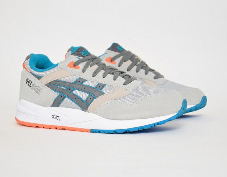 #Asics Gel Saga Beige Blue Orange #sneakers