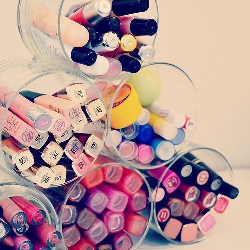 diy organizador de maquillaje