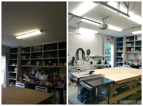 Installing led shop lights