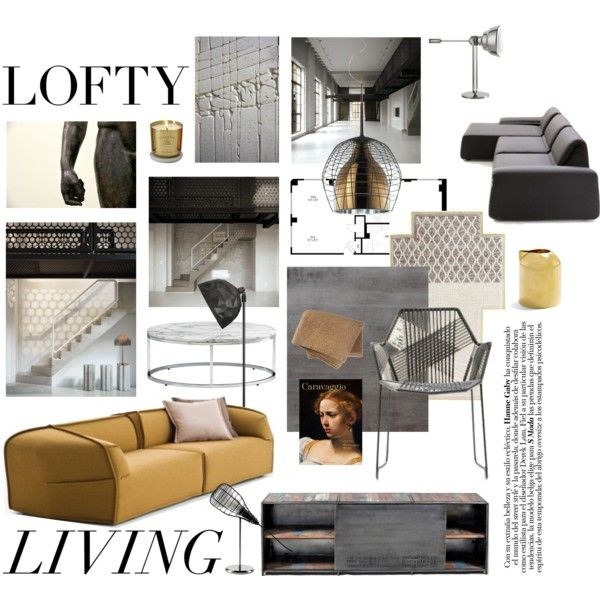 """loft living"" by fabuluz on Polyvore"