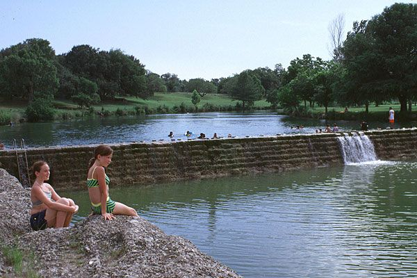 Swim At Blanco State Park In Blanco Texas Activities