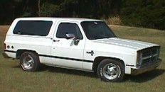 1969-1991 Blazer Parts- Cheyenne pickup parts