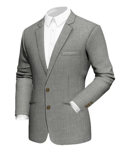 Grey wool Blazer http://www.tailor4less.com/en-us/men/blazers/3080-grey-wool-blazer