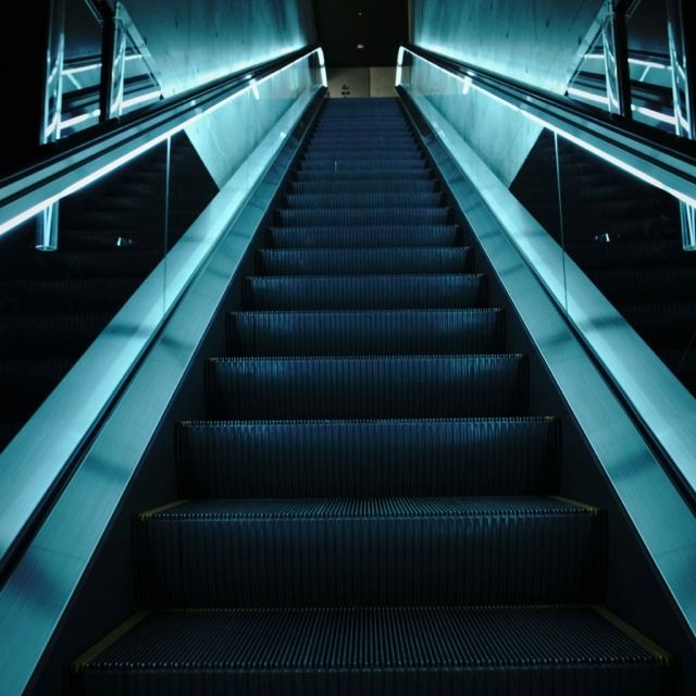 Stairs (Aquamarine Fukushima, Fukusima, JAPAN)