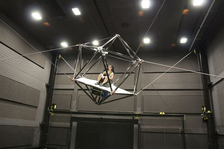 Video of the week: The cable robot of the Max Planck Institute