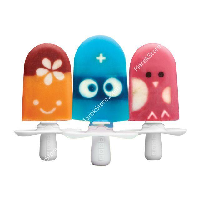 Zestaw do dekorowania lodów QUICK POP z pojemnikiem / ZOKU