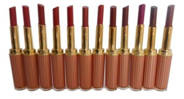 TLM+GCI+Bright+Moist+Lipstick+100%+Fashion+805B+2.5g+X+12+pcs+Price+₹1,706.00