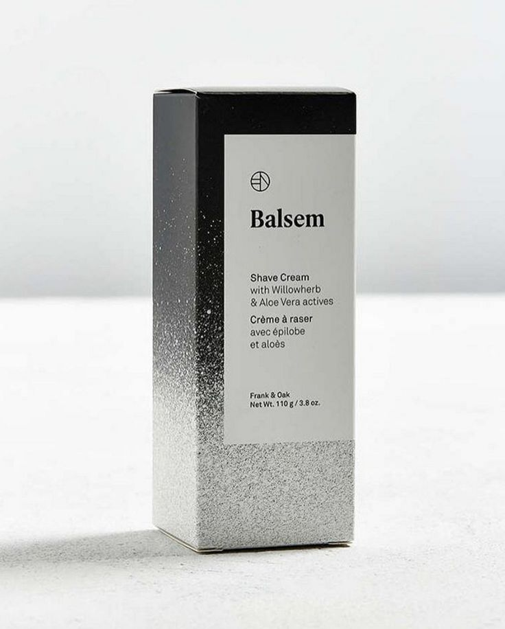 Balsem Shave Cream: This luxurious shaving cream leaves skin feeling smooth and comfortable. Rich in skin conditioners like Canadian Willowherb, Sunflower Seed Oil, and Aloe Vera, this formula allows for a clean, sleek shave while soothing skin. | #frankandoak #balsem   @minke_llc