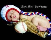 baby baseball!: Babies, Happy Baby, Photo Props, Crochet Hats, Baby Crochet, Newborns Pics, Baby Baseball, Photography Ideas, Baseball Hats