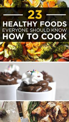 23 Healthy Foods Everyone Should Know How To Cook (w/ tasty looking recipes)