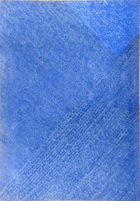 Whanki Kim 1972 oil on cotton