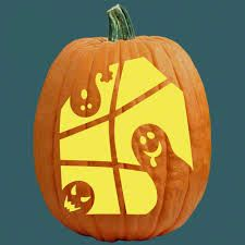 ghost pumpkin carving patterns - Google Search