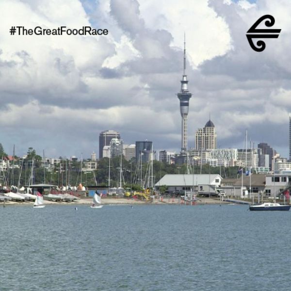 Auckland City #TheGreatFoodRace #GreatFoodRace