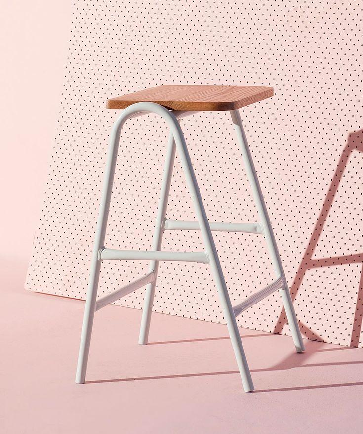 Hurdle High Stool - Seating - Furniture - Homeware