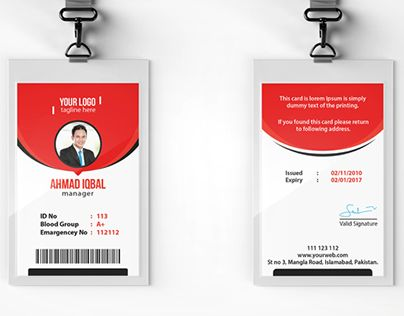 """Check out new work on my @Behance portfolio: """"Office ID Card"""" http://be.net/gallery/35822741/Office-ID-Card"""