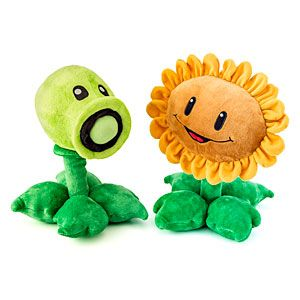 Plants vs Zombies plush  Caution: May not work in a real zombie attack!