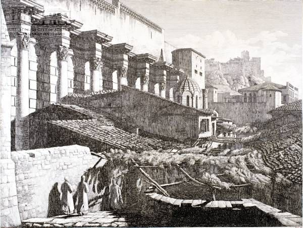 ifaistou street and the Hadrian Library in 1819 Athens a history of 8000 years. 2nd Edition. - Page 2 - SkyscraperCity