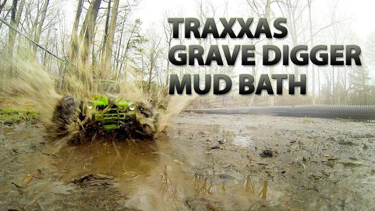 Traxxas Grave Digger Mud Bath