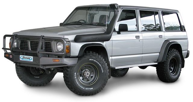 It's not a Pathfinder, it's a Nissan Patrol, only made in Australia. They're beautiful.