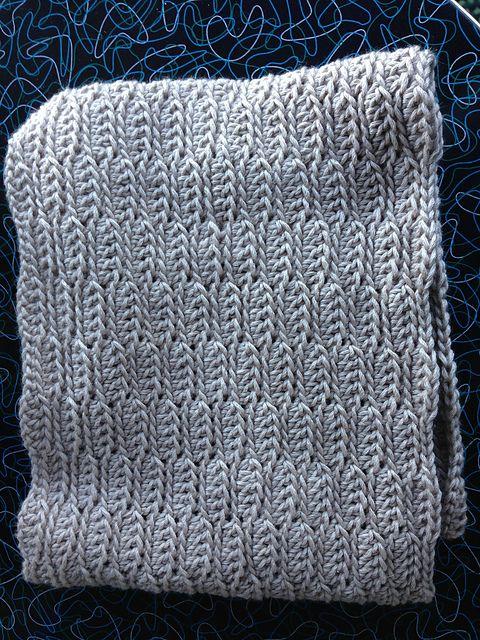 Catesby Three-Hour Cowl, free crochet pattern by Kathryn Jones.