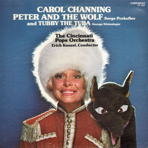 Peter and the Wolf: Carol Channing (Caedmon, 1978)