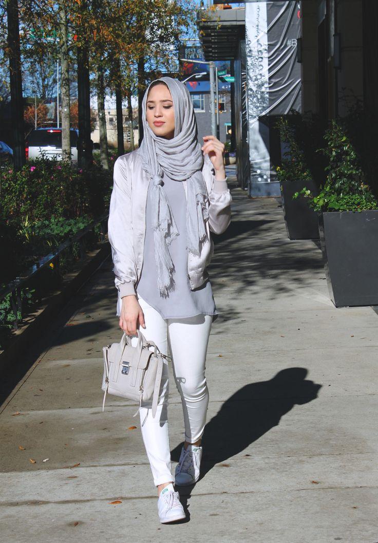 Maria Alia | Silky Bomber Jacket
