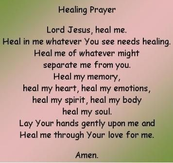 The Healing Prayer, How to pray for a miracle healing. #prayer #healing