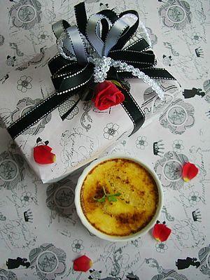 chococoこと友香さんの『簡単お菓子のレシピとラッピングの方法』「グレープフルーツのクレームブリュレ」 | お菓子・パンのレシピや作り方【corecle*コレクル】