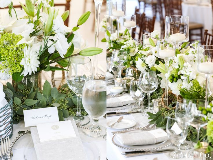 #white #wedding details, #Nantucket wedding at Great Harbor Yacht Club by Zofia & Co. Photography