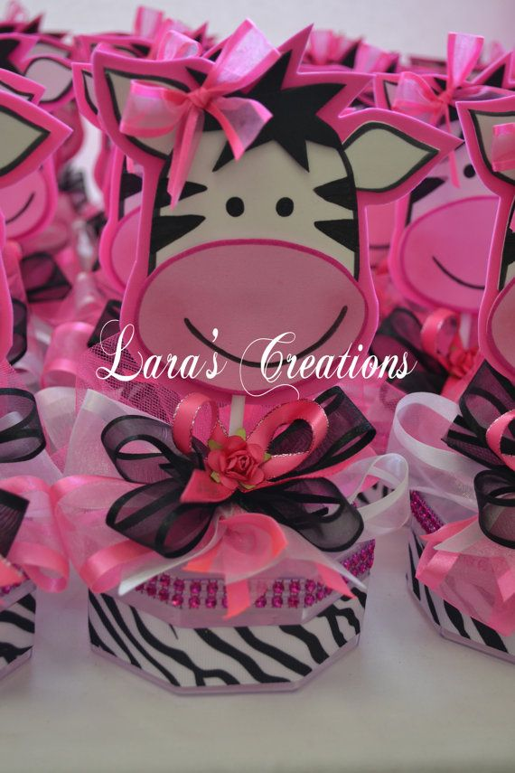 Zebra Favors Zebra Baby Shower Favors Zebra by LarasCreationsShop