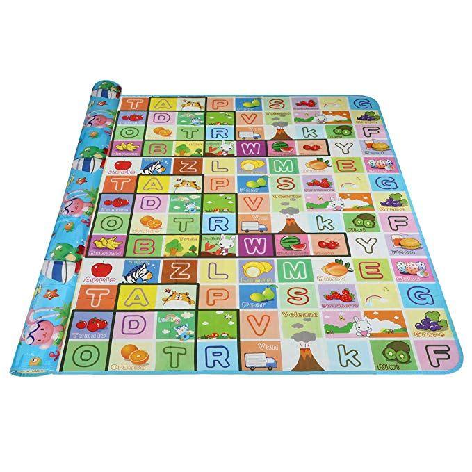 Kemanner Baby Kid Play Crawling Mat Toddlers Foam Floor Game Playmat Non Toxic Non Slip Waterproof 0 2 Inch Thick Best Baby Play Mat Baby Play Mat Foam Playmat