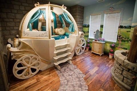 Cinderella Bedroom?! YES!!!!