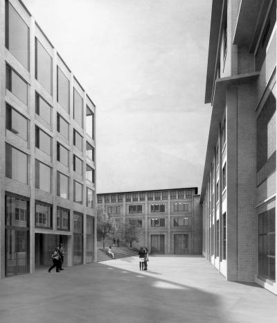 Papieri Areal Cham | Boltshauser Architekten, Zürich, Schweiz