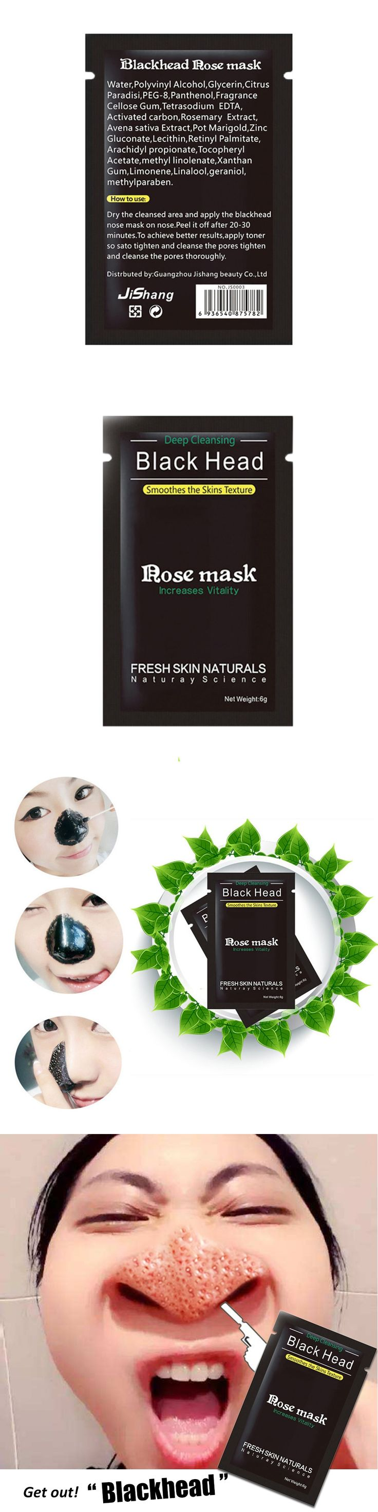 Black Mask Facial Mask Nose Blackhead Remover Peeling Peel Off Black Head Acne Treatments Face Care Suction  kniyea  kniyea