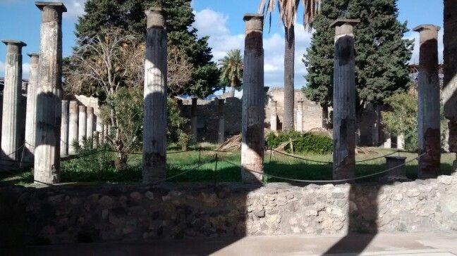 Jardin Casa del fauno/ Pompei Scavi - IT  01/2016