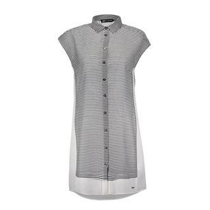 Gsus senna blouse dress, White, medium