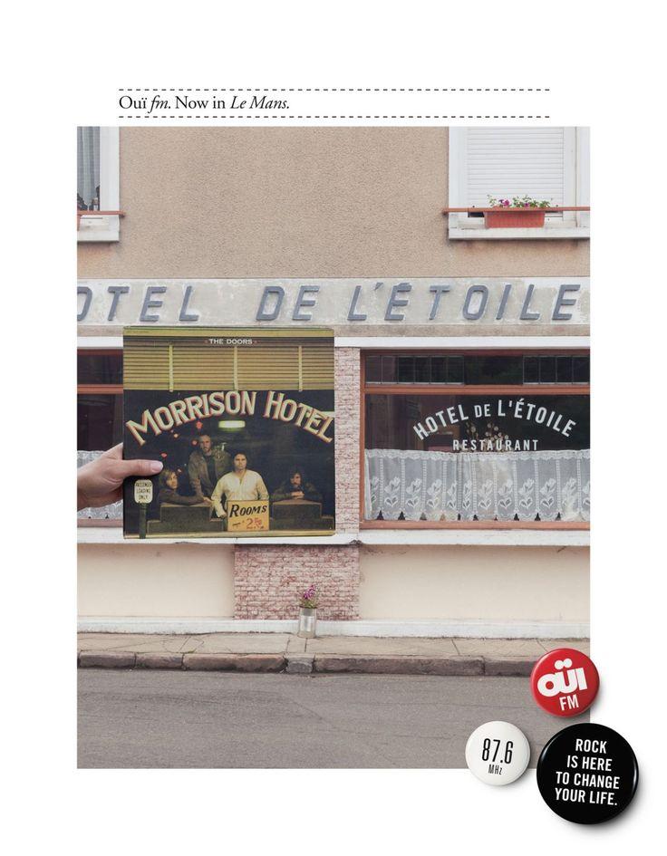 Read more: https://www.luerzersarchive.com/en/magazine/print-detail/oufm-paris-49103.html Ouïfm,  Paris Campaign for Oui FM – La Radio Rock, a station that can now be received in towns all over France. Tags: Stephane Richard,Gabriel Gaultier,Leg, Paris,Caroline Lorin,Ouïfm,  Paris,Matthieu Raffard
