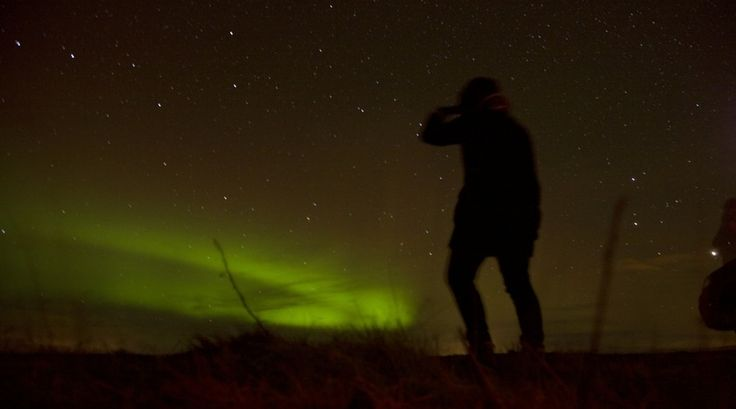 Reporter Menno maakte een waanzinnige reis door Ijsland en zag daar het #Noorderlicht
